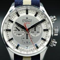 Zenith El Primero Sport Steel 45mm Silver No numerals United States of America, Florida, Naples