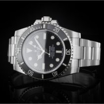 Rolex 114060 Steel 2015 Submariner (No Date) 40mm pre-owned
