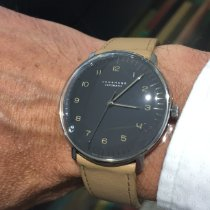 Junghans max bill Automatic Steel 38mm Grey Arabic numerals