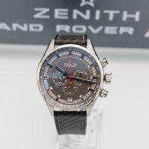 Zenith El Primero Sport Acero 45mm Gris Sin cifras