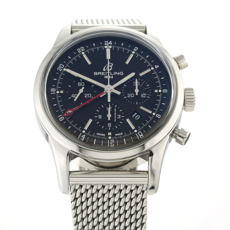 Breitling Transocean Chronograph GMT AB0451 2013 usados