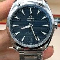 Omega Seamaster Aqua Terra Stahl 41mm Blau Keine Ziffern