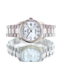 Rolex Day-Date 36 White gold 36mm Mother of pearl United Kingdom, Essex