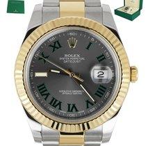 Rolex Datejust II Gold/Steel 41mm Roman numerals United States of America, New York, Smithtown