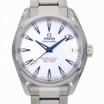 Omega (オメガ) チタン 自動巻き ホワイト 38.5mm 新品 シーマスター アクアテラ