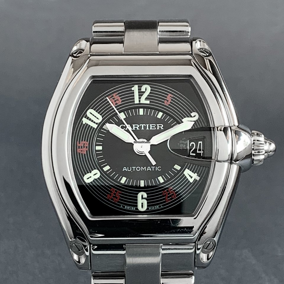 Cartier Roadster W62002V3 pre-owned