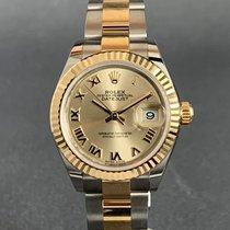 Rolex Lady-Datejust M279173 Não usado Ouro/Aço 28mm Automático