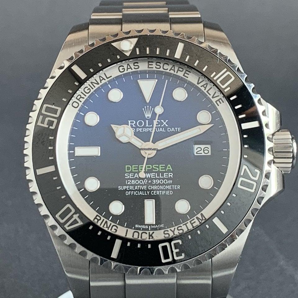 Rolex Sea-Dweller Deepsea 116660-0003 pre-owned