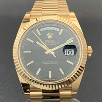 Rolex Day-Date 40 Yellow gold 40mm Black No numerals United States of America, Tennesse, Nashville