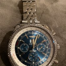 Breitling Bentley 6.75 Steel 48mm Blue No numerals United States of America, New Jersey, Englewood