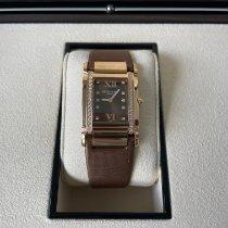 Patek Philippe Twenty~4 Oro rosa 25.1mm Marrón Romanos