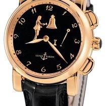 Ulysse Nardin Hourstriker Rose gold 42mm Black Arabic numerals