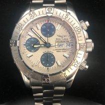 Breitling Superocean Chronograph II подержанные 42mm Черный Хронограф Дата Сталь