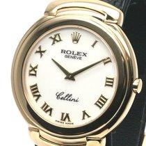 Rolex (ロレックス) Cellini イエローゴールド 37mm ホワイト ローマインデックス 日本, Tokyo
