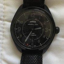 Hamilton Khaki Field Day Date Steel 42mm Black Arabic numerals United States of America, Oregon, Portland