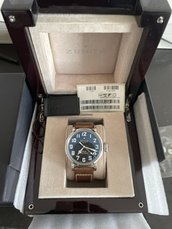 Zenith Pilot Type 20 Extra Special 03.2430.3000/21.c738 pre-owned
