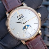 A. Lange & Söhne Saxonia Rose gold 40mm Silver No numerals United States of America, Florida, Parkland
