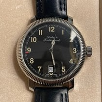 Dubey & Schaldenbrand Steel 38mm Automatic pre-owned United States of America, New York, Flushing