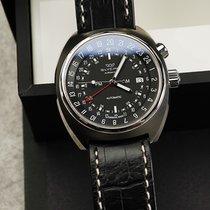 Glycine Airman Steel 43mm Black Arabic numerals