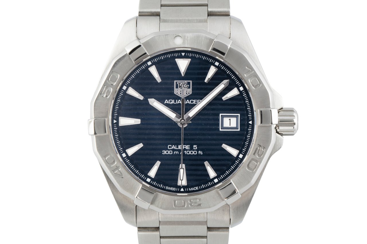 TAG Heuer Aquaracer 300M WAY2112 2016 pre-owned