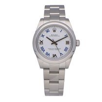 Rolex Oyster Perpetual 31 Staal 31mm Wit Romeins Nederland, Amsterdam