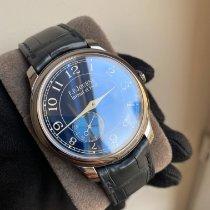 F.P.Journe Chronomètre Bleu Ongedragen Tantalum Handopwind