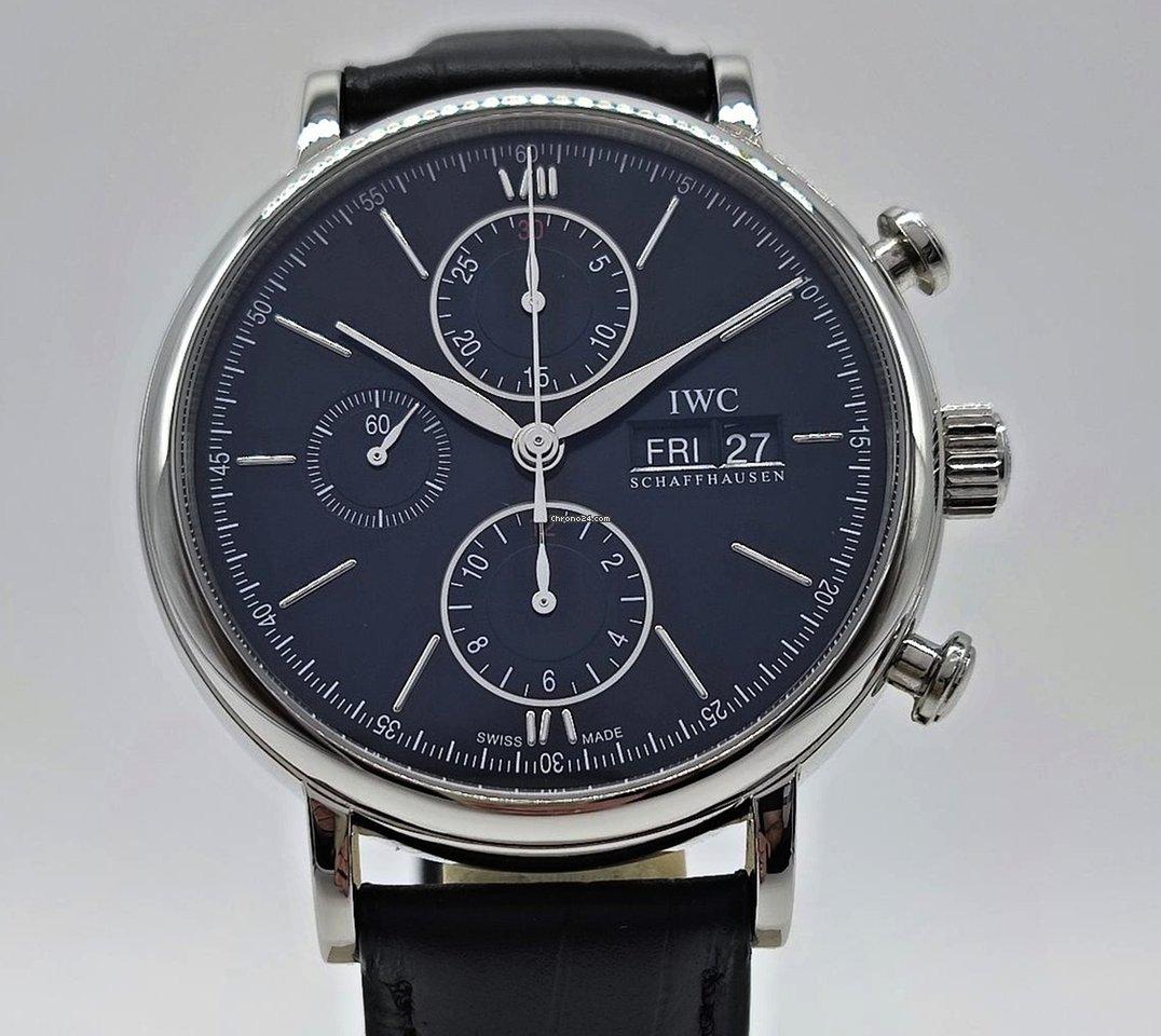 IWC Portofino Chronograph IW391029 pre-owned