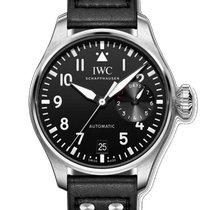 IWC Big Pilot Steel 46.2mm Black