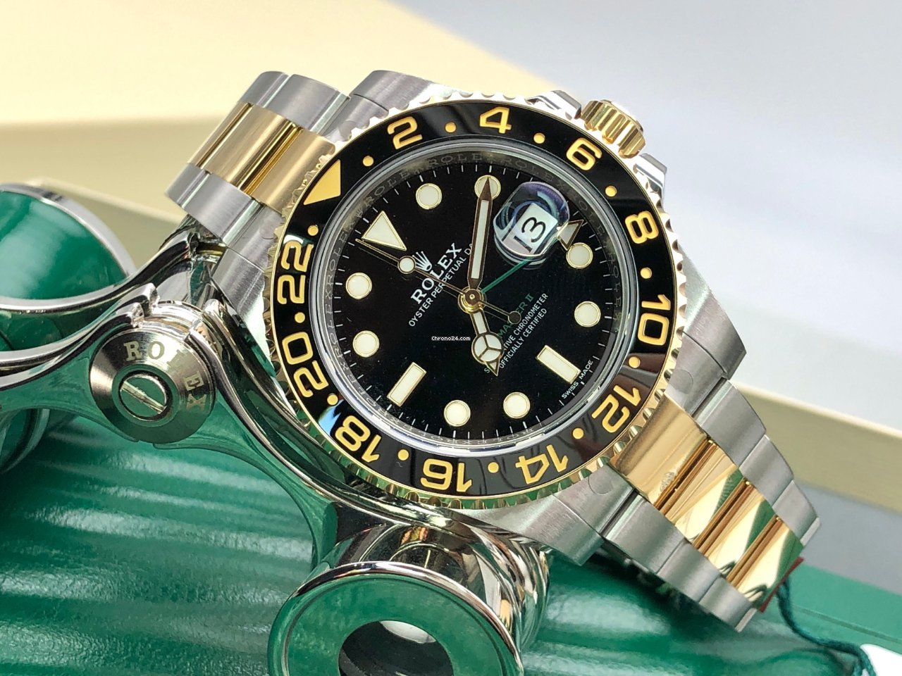 Rolex GMT-Master II 116713LN 2021 nuevo