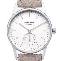 NOMOS Orion 33 new 2021 Manual winding Watch with original box and original papers 324