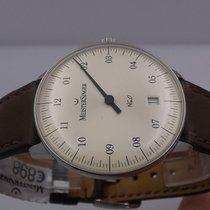Meistersinger Neo Steel 36mm Silver Arabic numerals