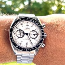 Omega Speedmaster Racing Steel 44mm White No numerals United States of America, Connecticut, Coventry