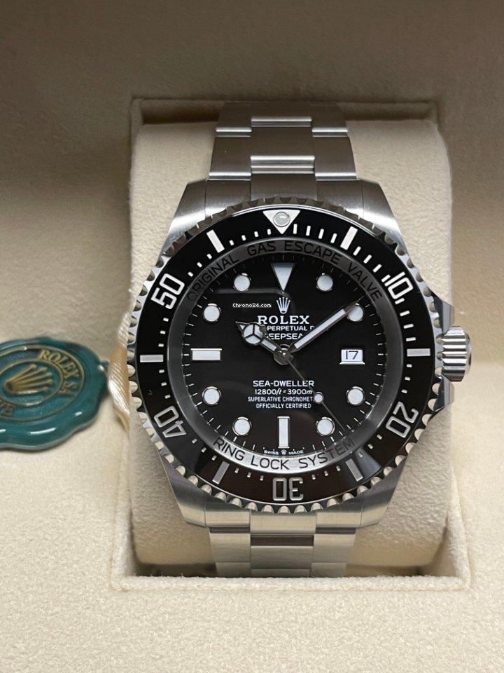 Rolex Sea-Dweller Deepsea 126660 Deepsea 2018 2021 nuevo