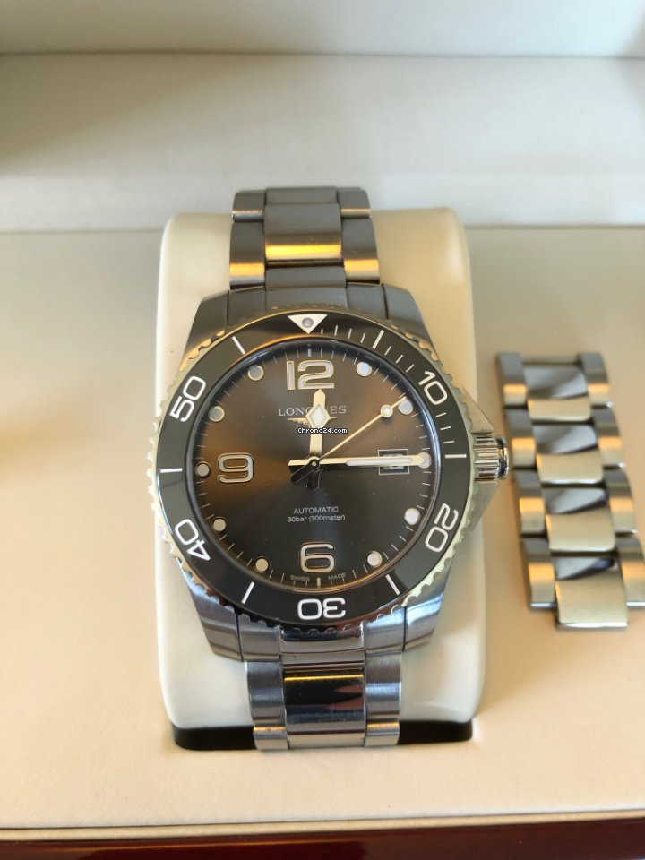 Longines HydroConquest L3.781.4.76.6 2019 pre-owned