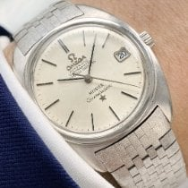 Omega White gold Automatic 34mm pre-owned Constellation