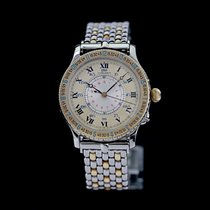 Longines Lindbergh Hour Angle Gold/Steel 38mm Gold Roman numerals