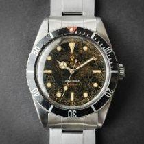 劳力士 6536/1 钢 1957 Submariner (No Date) 37.5mm 二手