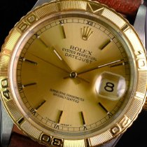 Rolex Datejust Turn-O-Graph 16233 Odlično Zlato/Zeljezo 36mm Automatika
