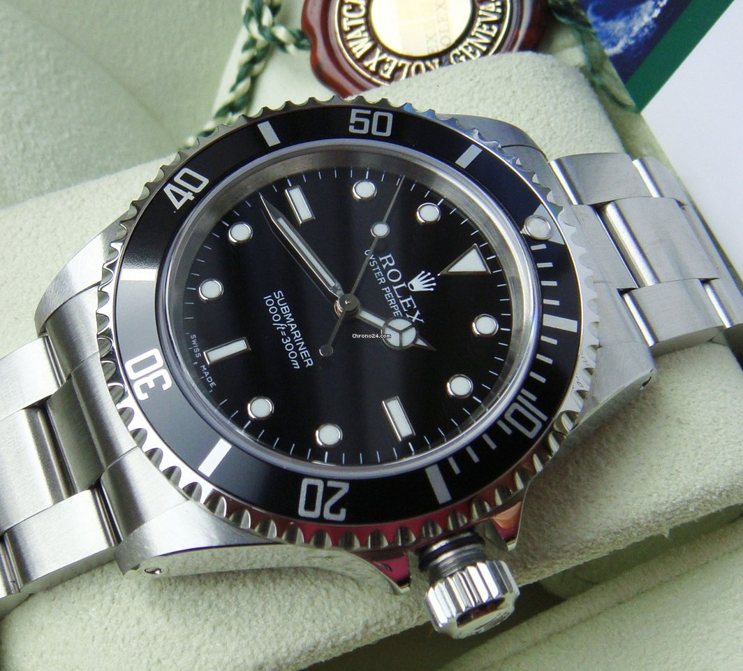 Rolex Submariner (No Date) 14060M 2003 gebraucht