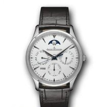 Jaeger-LeCoultre Master Ultra Thin Perpetual White gold 39mm Silver United States of America, California, Newport Beach