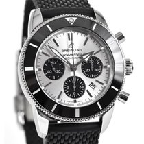 Breitling Superocean Heritage Chronograph Stahl 44mm Silber Deutschland, Teuschnitz