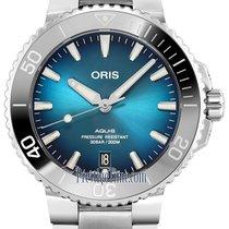 Oris Aquis Date Steel 39.5mm Blue United States of America, New York, Airmont
