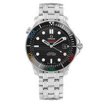 Omega Seamaster Diver 300 M Steel 41mm Black No numerals Australia