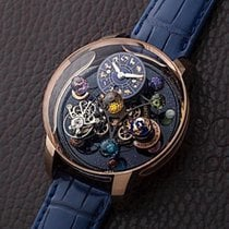 Jacob & Co. Astronomia AS310.40.SP.ZK.A 全新 玫瑰金 43.4mm 手动上弦