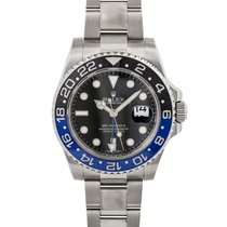 Rolex GMT-Master II 116710BLNR Veldig bra Stål 40mm Automatisk