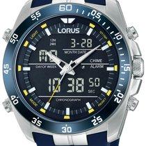 Lorus Aço 46mm Quartzo RW617AX9 novo