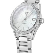 TAG Heuer Carrera Lady Steel 36mm Mother of pearl No numerals