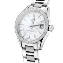 TAG Heuer Carrera Lady Steel 32mm Mother of pearl No numerals