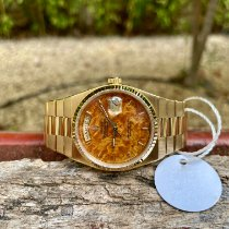 Rolex Day-Date Oysterquartz Oro amarillo 36mm Marrón Sin cifras España, NORTH WALES