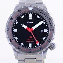 Sinn U1 Steel 44mm Black No numerals
